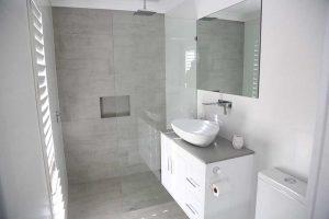 Completed Bathroom Renovation - Shower