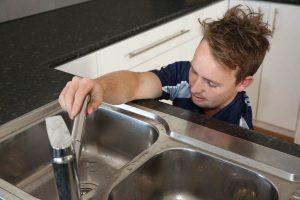Plumbing Maintenance on Kitchen Tap