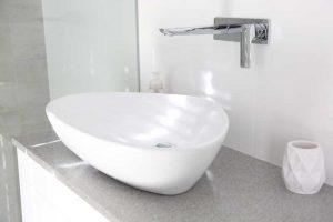 Completed Bathroom Renovation - Basin