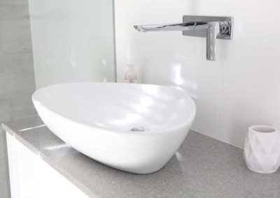 Completed Bathroom Renovation - Basin