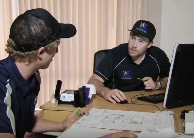 WestEnd Plumbing Co-Owners Darcy Reader (left) and Jeremy McGovern (right)