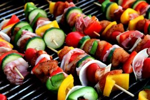 Meat and Vegetable - Natural gas BBQ